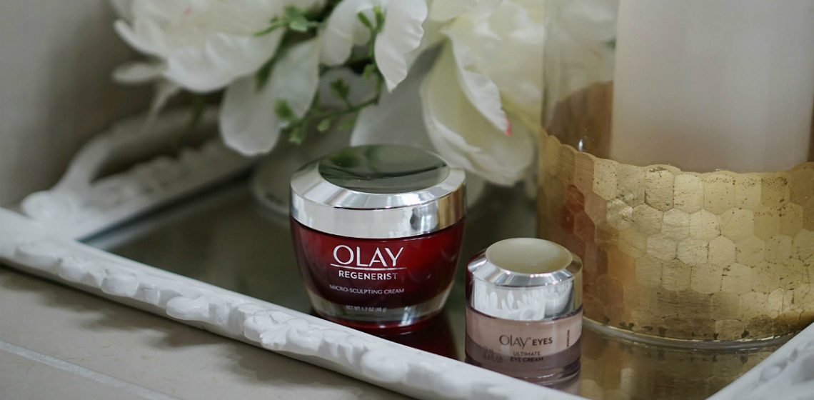 Olay 28 Day Challenge - Olay Regenerist Micro-Sculpting Cream and Olay Eyes