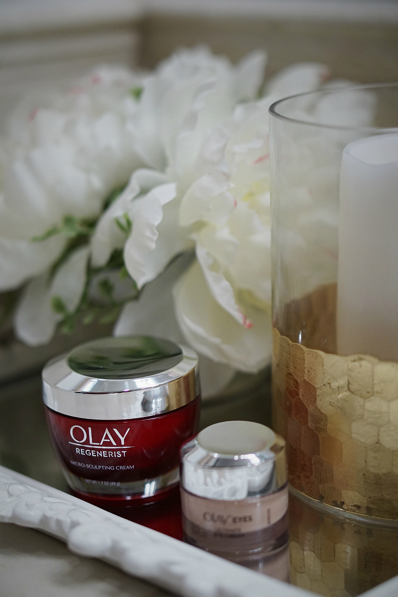 Olay 28 Day Challenge with Olay Regenerist Micro-Sculpting Cream and Olay Eyes