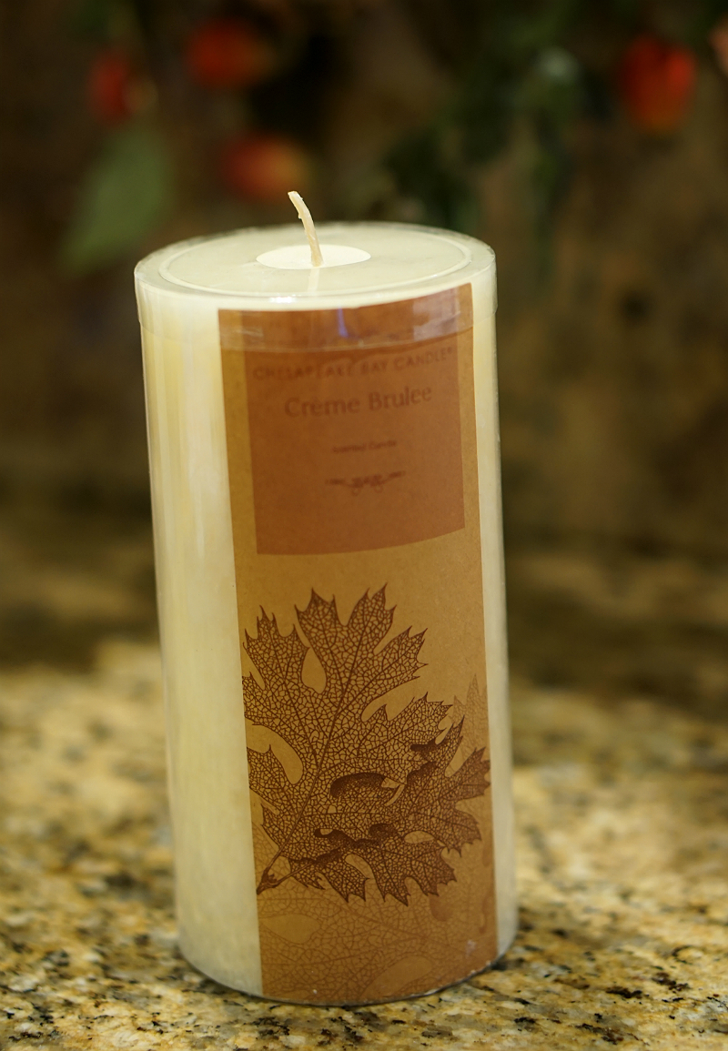 The Year of Cozy Giveaway from Inspirations and Celebrations - Chesapeake Bay Candle