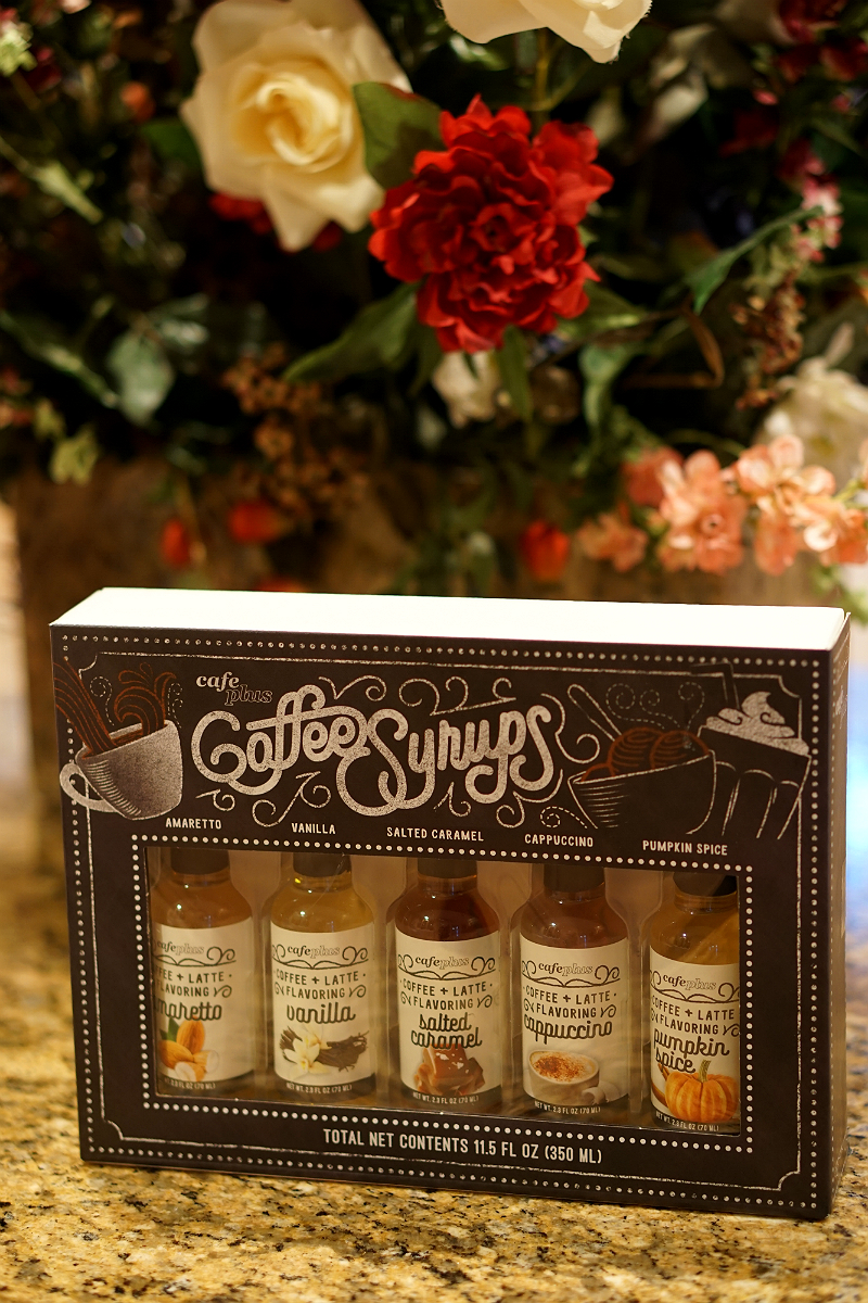 The Year of Cozy Giveaway from Inspirations and Celebrations - Coffee Syrups