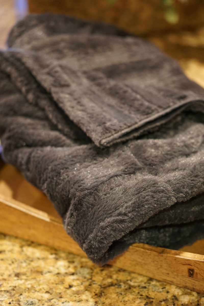 The Year of Cozy Giveaway from Inspirations and Celebrations - Faux Fur Throw