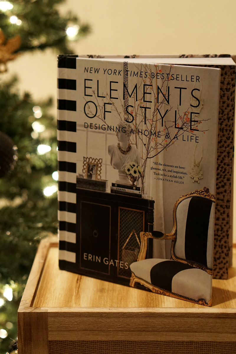 The Elements of Style Holiday Giveaway - Elements of Style Book by Erin Gates