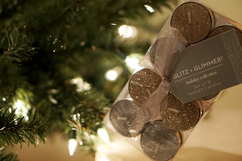 The Elements of Style Holiday Giveaway - Glitz and Glimmer Tea Light Set