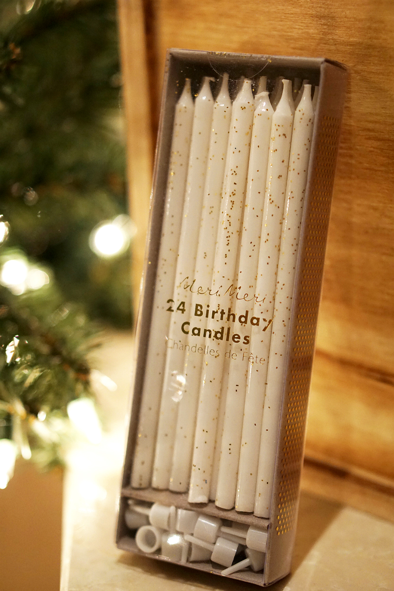 The Elements of Style Holiday Giveaway - Meri Meri Birthday Candles