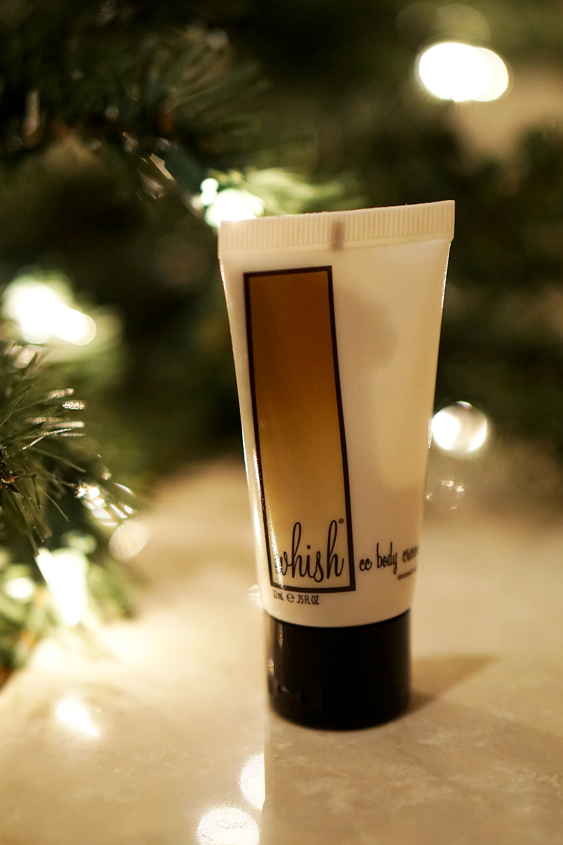The Elements of Style Holiday Giveaway - Whish Travel Sized CC Body Cream