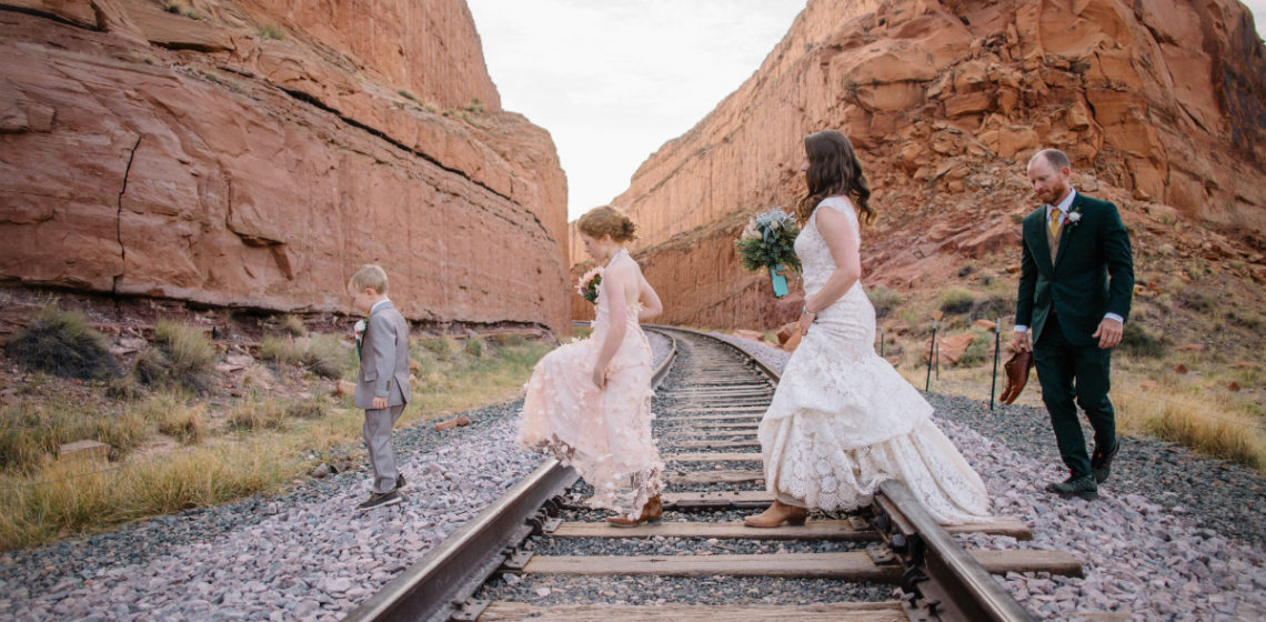 Going The Extra Mile for Love - The Inspiring Tale of a Dreamy Moab Desert Wedding