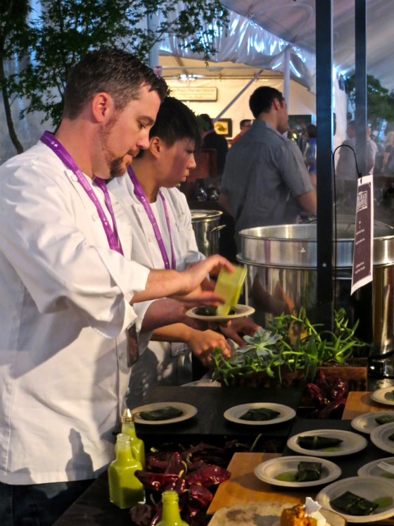 Pebble Beach Food and Wine Cooking Demos