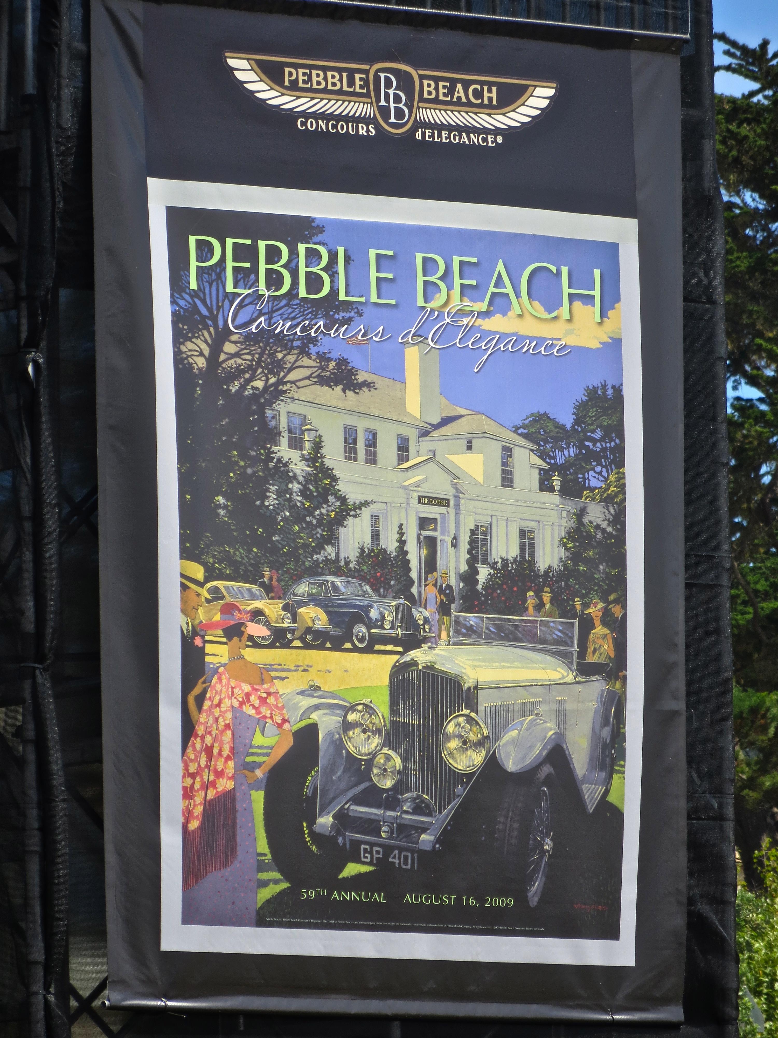Pebble Beach Concours d'Elegance 2013