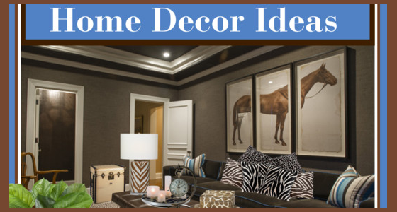 Home Decor Ideas - Animal Prints