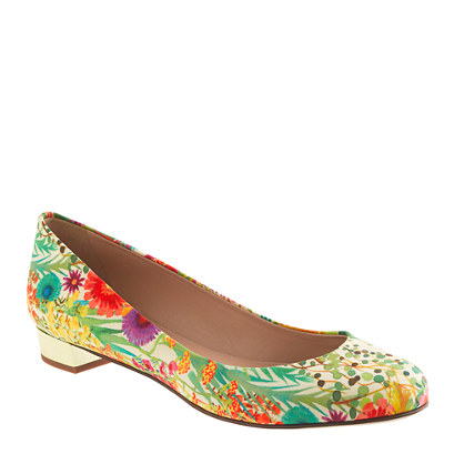 Janey Liberty Print Flat