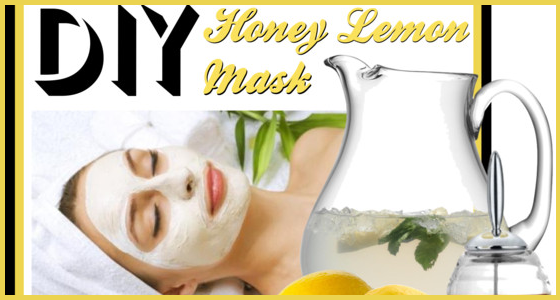 Honey Lemon Mask - DIY Beauty Treatment