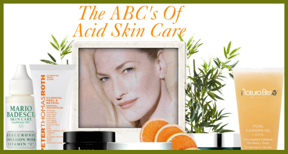 Acid Skin Care Treatments
