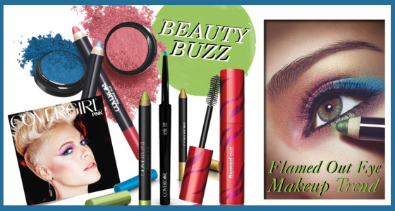 Flamed Out Eye Makeup Trend