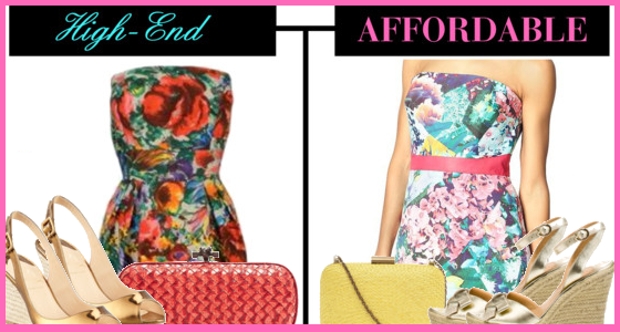 High-End vs Affordable Fashion - Summer Trends
