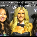 Jaguar Playboy Party in Pebble Beach Attracts Auto Enthusiasts & Celebrities