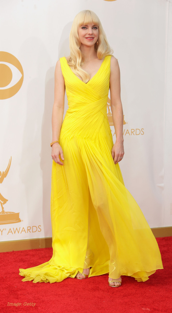 2013 Emmy Awards Best Celebrity Fashion - Anna Faris