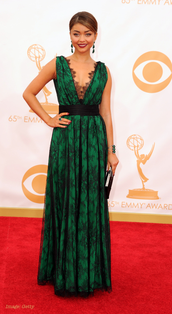 2013 Emmy Awards Best Celebrity Fashion - Sarah Hyland