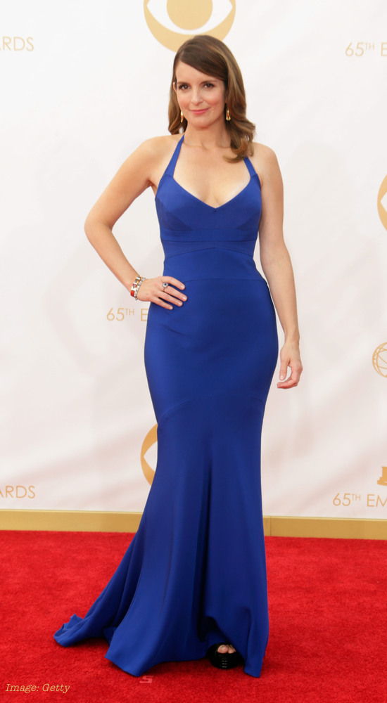 2013 Emmy Awards Best Celebrity Fashion - Tina Fey