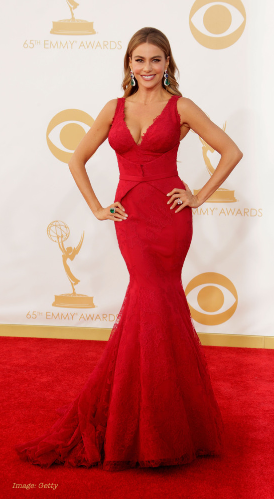 2013 Emmy Awards Best Fashion - Sofia Vergara