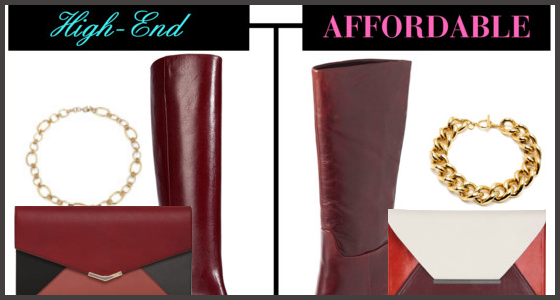 High-End vs. Affordable Fashion - Fall Accessory Trends