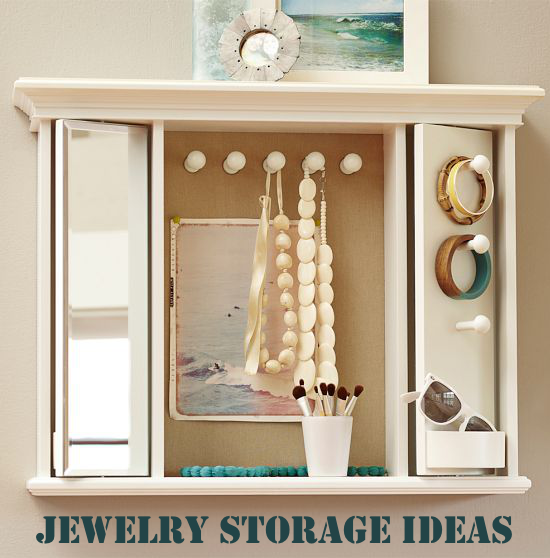 JEWELRY STORAGE IDEAS HOME ORGANIZATION INSPIRATION