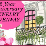 2 Year Anniversary Jewelry Giveaway