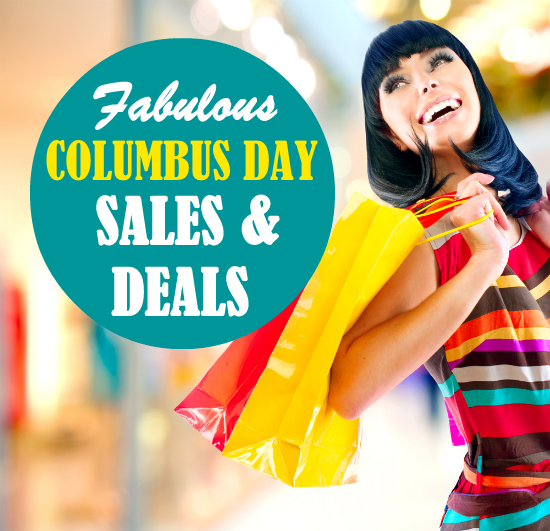 Columbus Day 2013 Sales and Deals