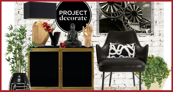 Home Decor Inspiration - Edgy Glamour