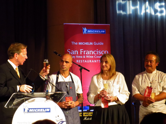 Michelin Guide 2014 - Michelin Star Gala San Francisco