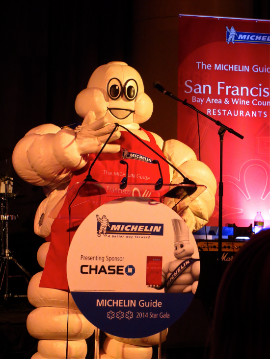 Michelin Star Gala 2014 San Francisco - Michelin Man