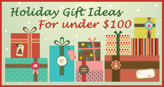 Holiday Gift Ideas for under $100
