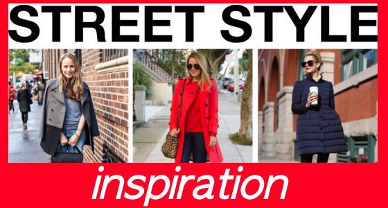 Street Style Inspiration - Winter Coats