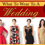 What To Wear To A Wedding - Style Guide - 2013 Fall / Winter Edition