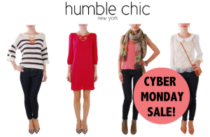 Cyber Monday 2013 Sale Humble Chic NY