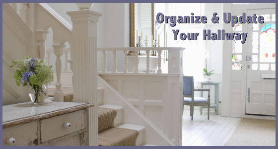 Organize Your Hallway - Home Decorating Tips