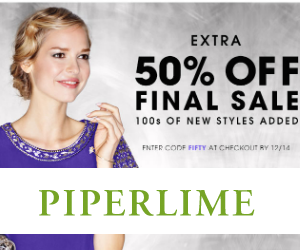 Piperlime Holiday Sales