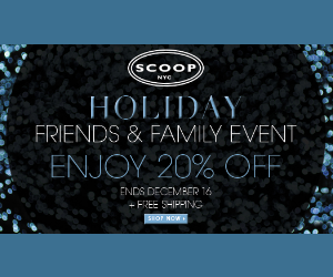 Scoop NYC Holiday Sales