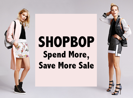 Shopbop Spend More Save More Sale