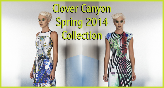 Clover Canyon Spring 2014 Collection