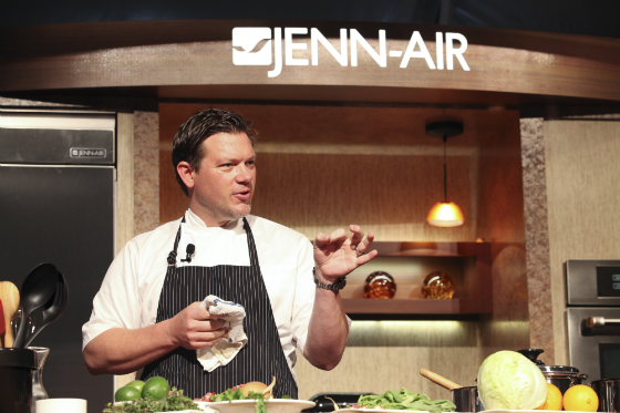 Pebble Beach Food and Wine Cooking Demonstrations