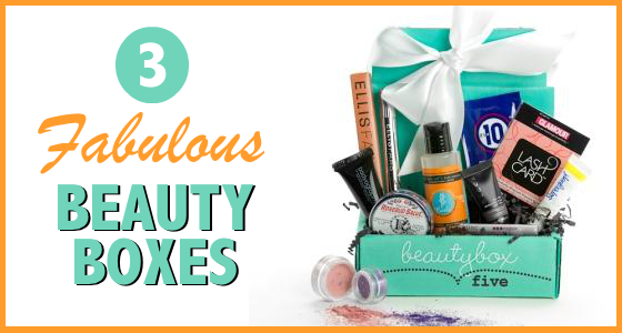 3 Fabulous Beauty Boxes