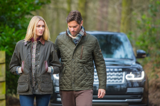 Barbour for Land Rover Clothing