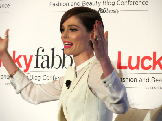 Lucky FABB Conference Coco Rocha