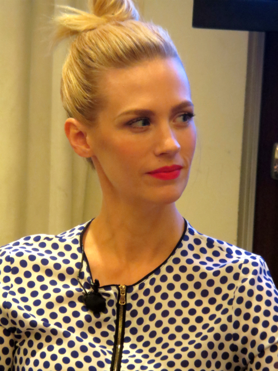 Lucky FABB Conference January Jones Mad Men