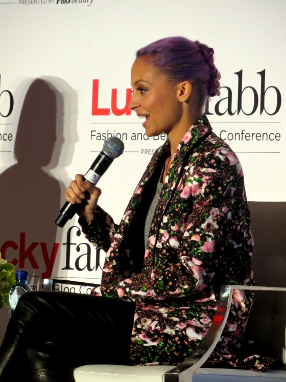 Lucky FABB Conference Nicole Richie