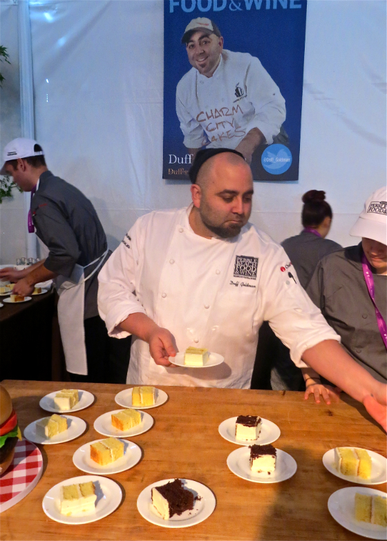 Pebble Beach Food and Wine Festival Celebrity Chef Duff Goldman of Charm City Cakes
