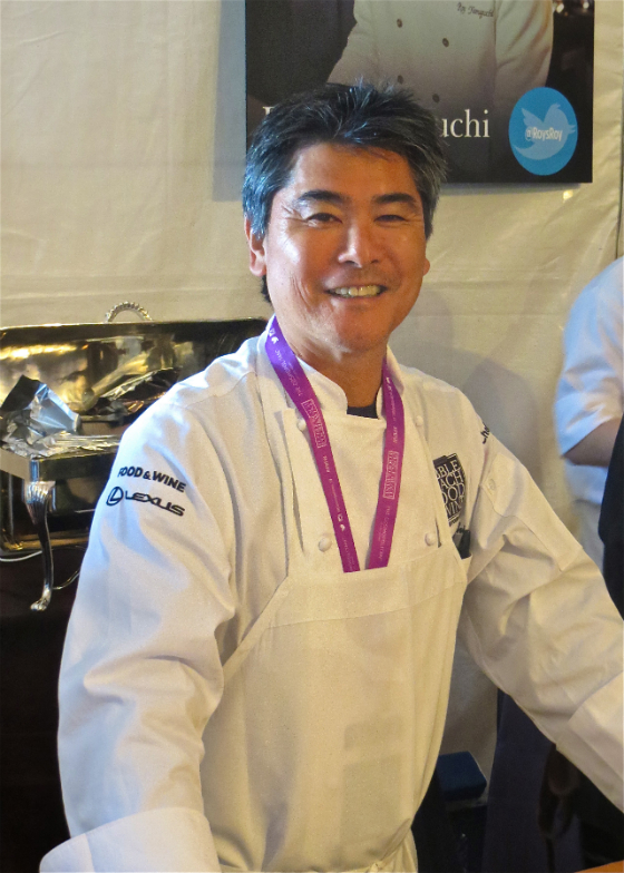 Pebble Beach Food and Wine Festival Celebrity Chef Roy Yamaguchi of Roy's
