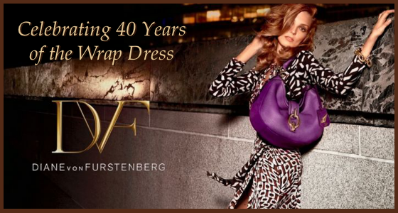 DVF Celebrating 40 Years of the Wrap Dress