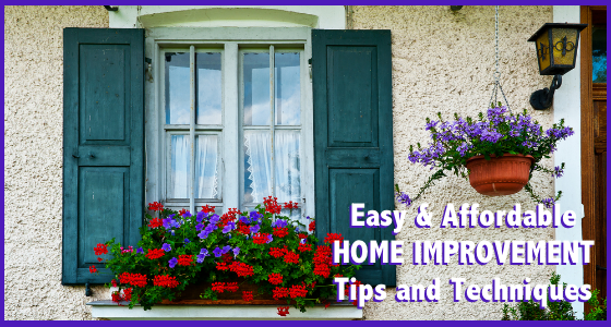 Easy and Affordable Home Improvement Tips