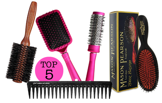 The Top 5 Hair Brushes